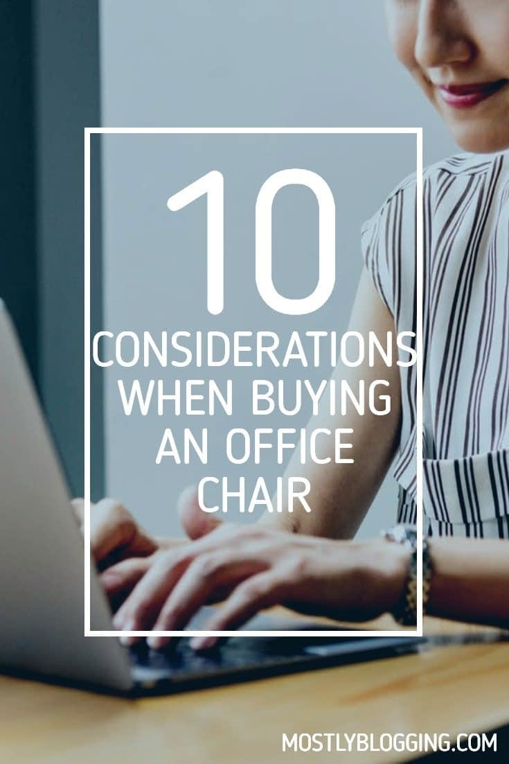 How to choose a comfortable office chair, 10 ways