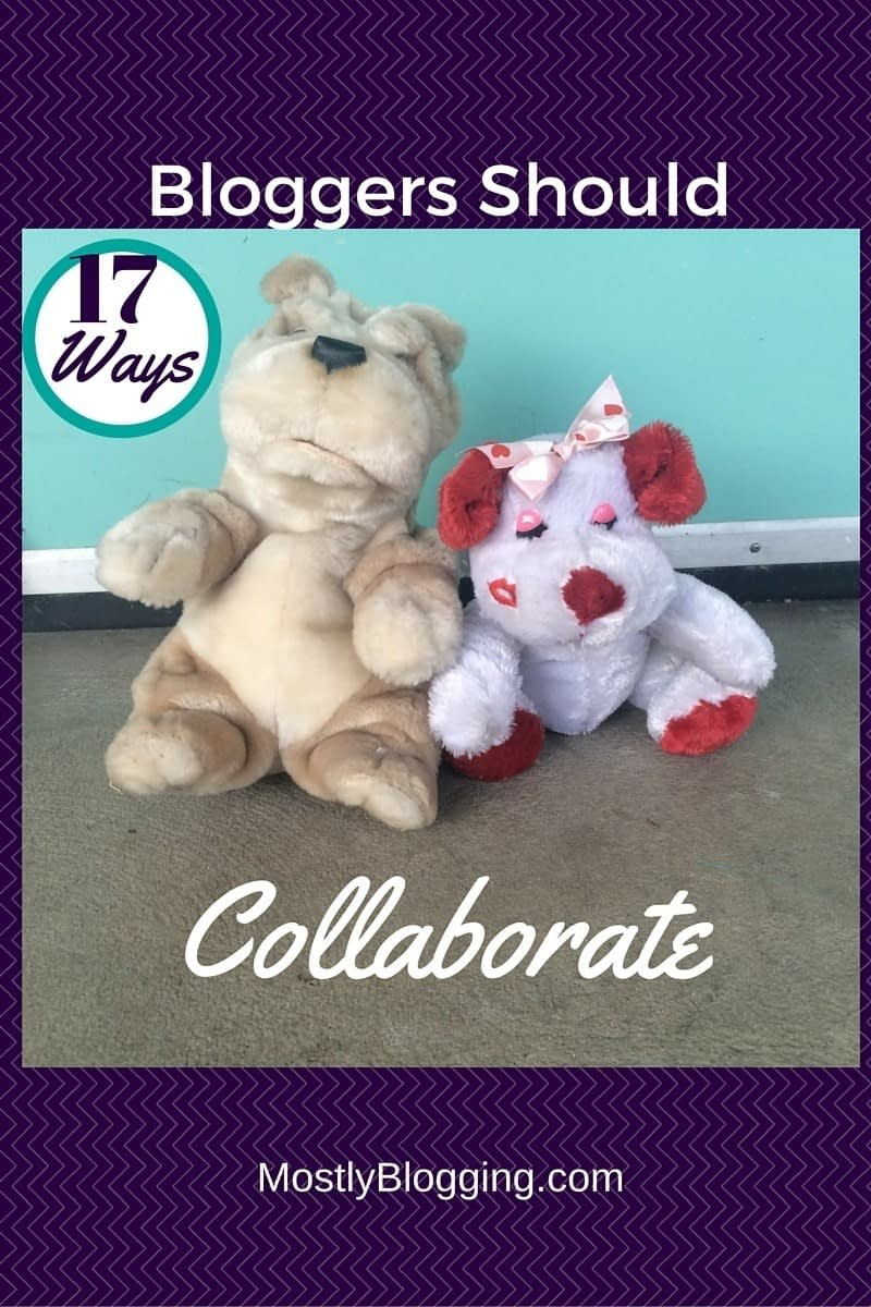 Bloggers should help each other and collaborate