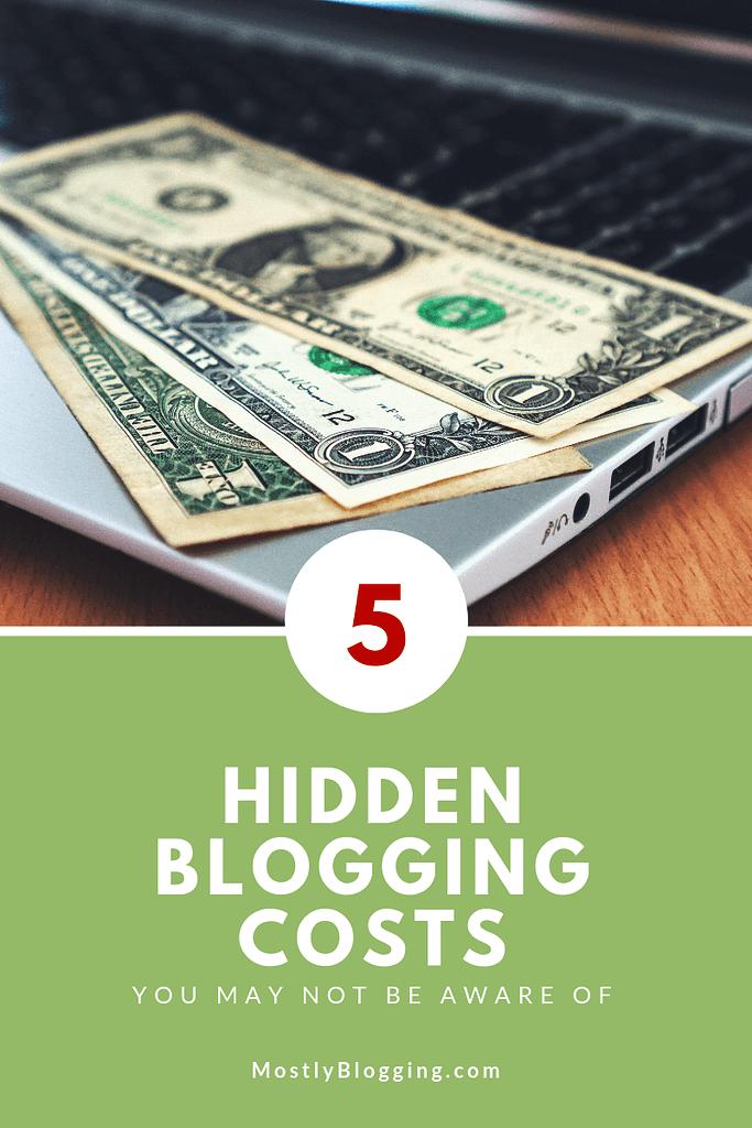 5 Hidden blogging costs