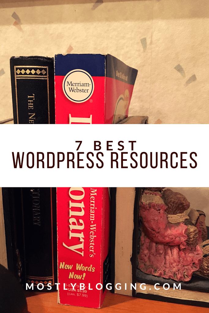 7 of the best WordPress resources