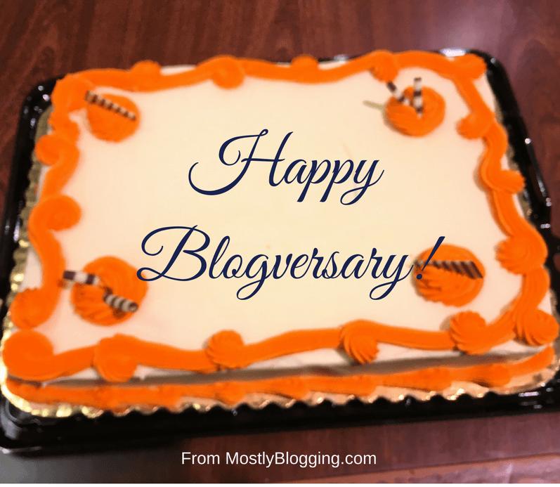 blogversary cake