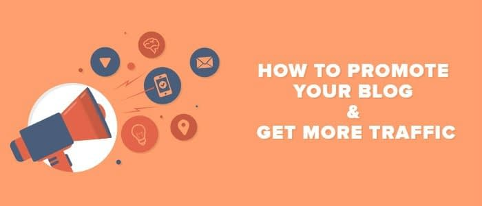 Promote Your Blog Posts and Increase Traffic by following these 8 #blogging tips.
