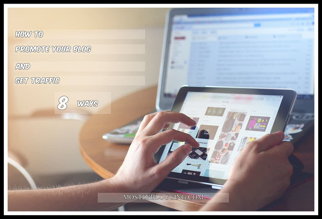 #Bloggers can promote their #blogs and increase traffic