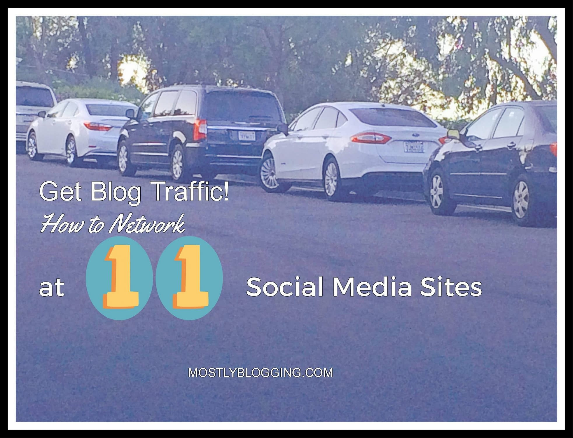 Get Blog Traffic at Social Media Sites