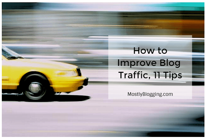 How to improve blog traffic, 11 free tips