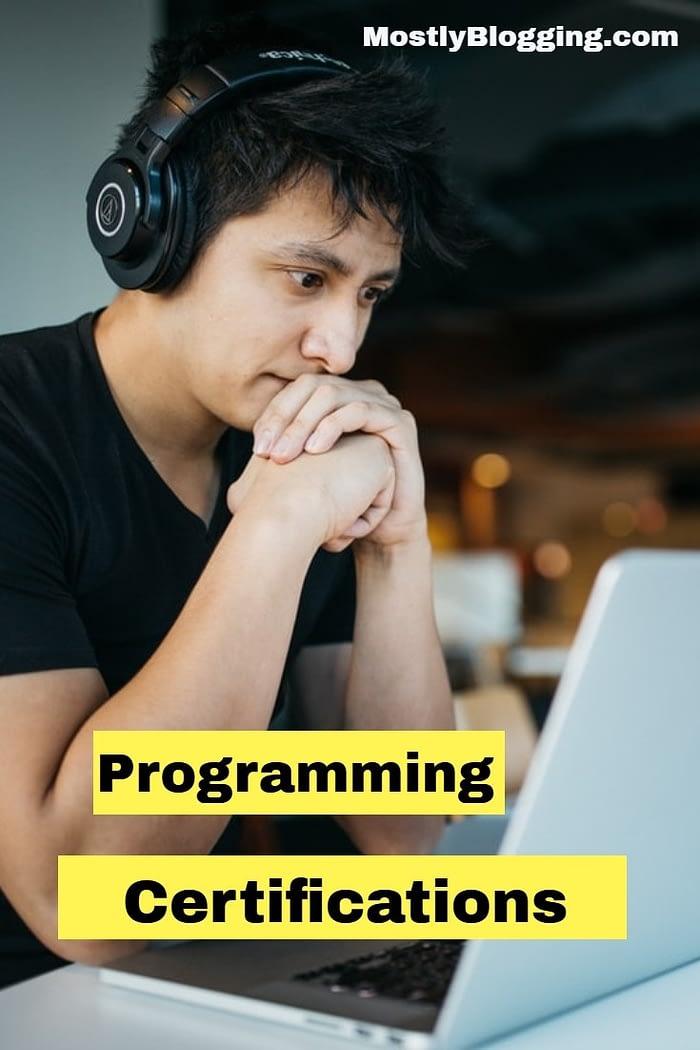 programming certifications
