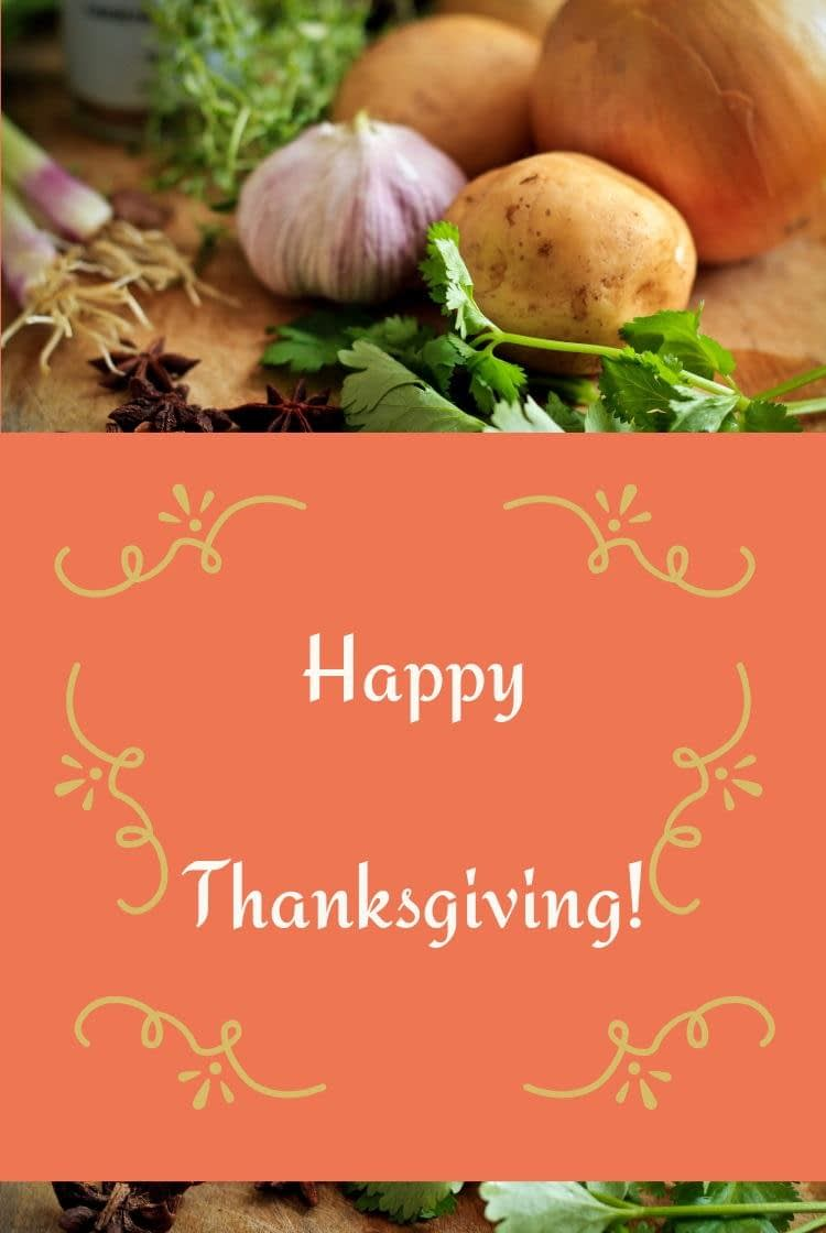 Thanksgiving blog party