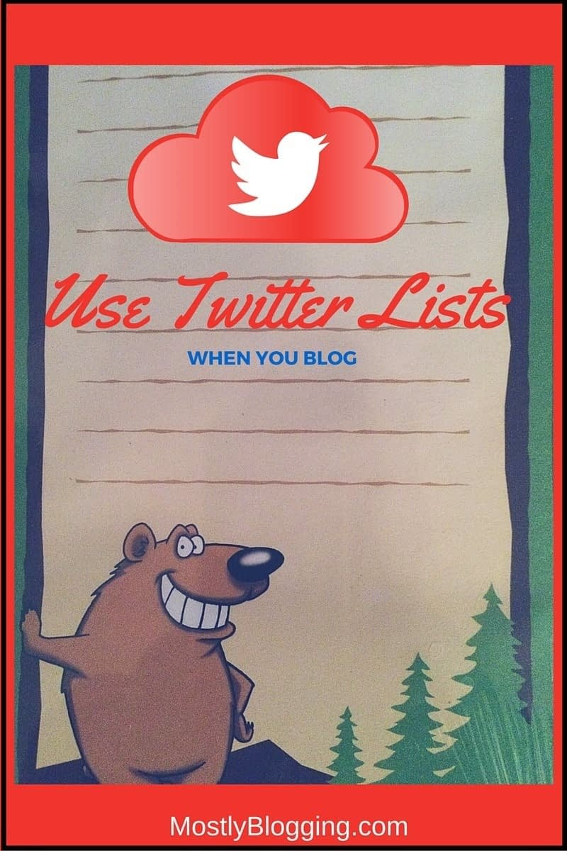 Twitter Lists Help Bloggers