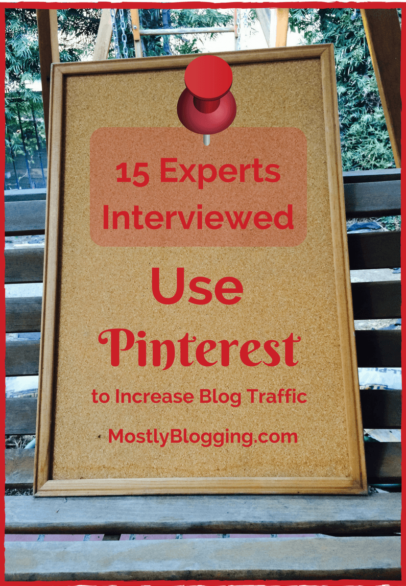 Pinterest is the best way to increase #blog traffic according to experts