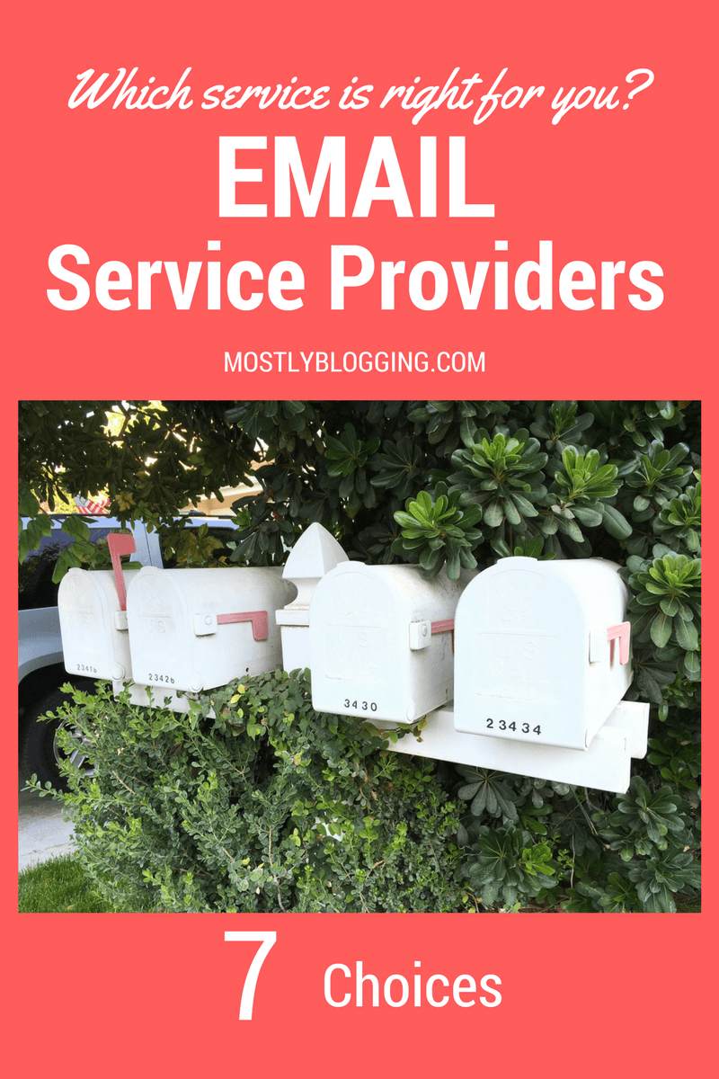 8 email list providers compared