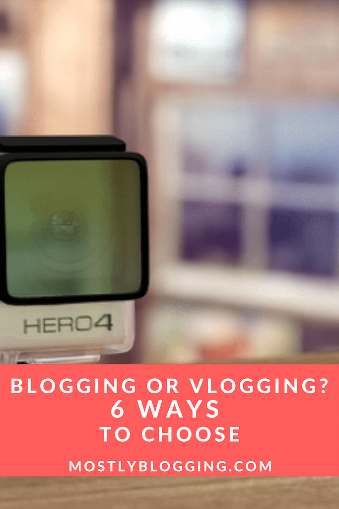 Vlogging can help #Bloggers #MakeMoneyOnline