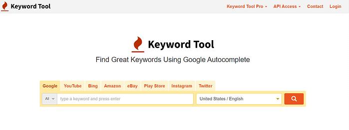 Ubersuggest Alternatives Keyword Tool