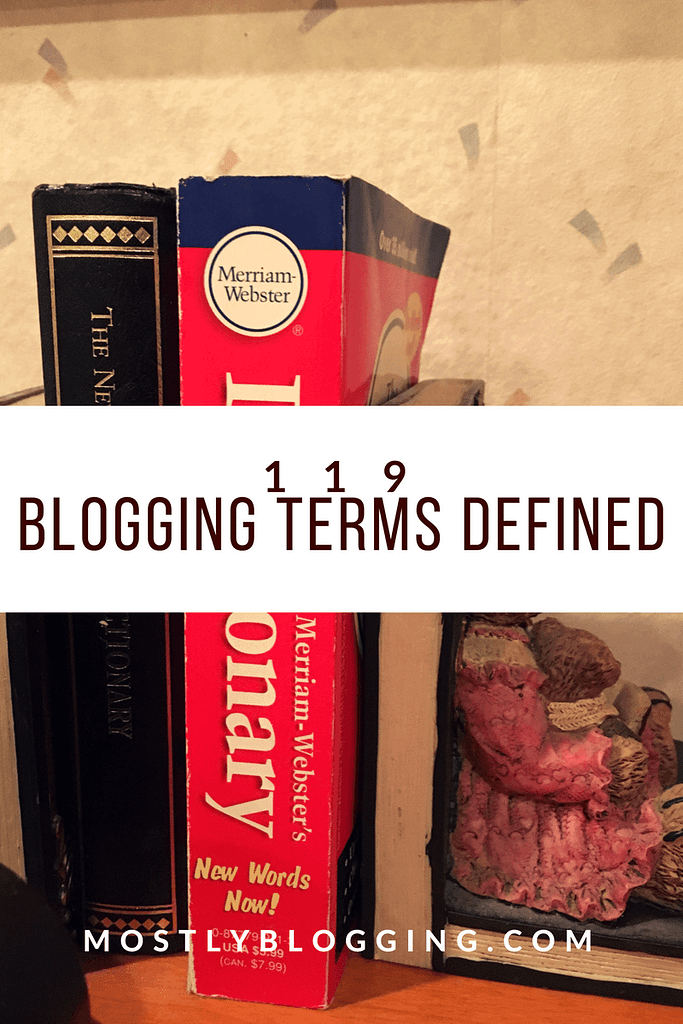 Be a Better Blogger with Blogging Definitions