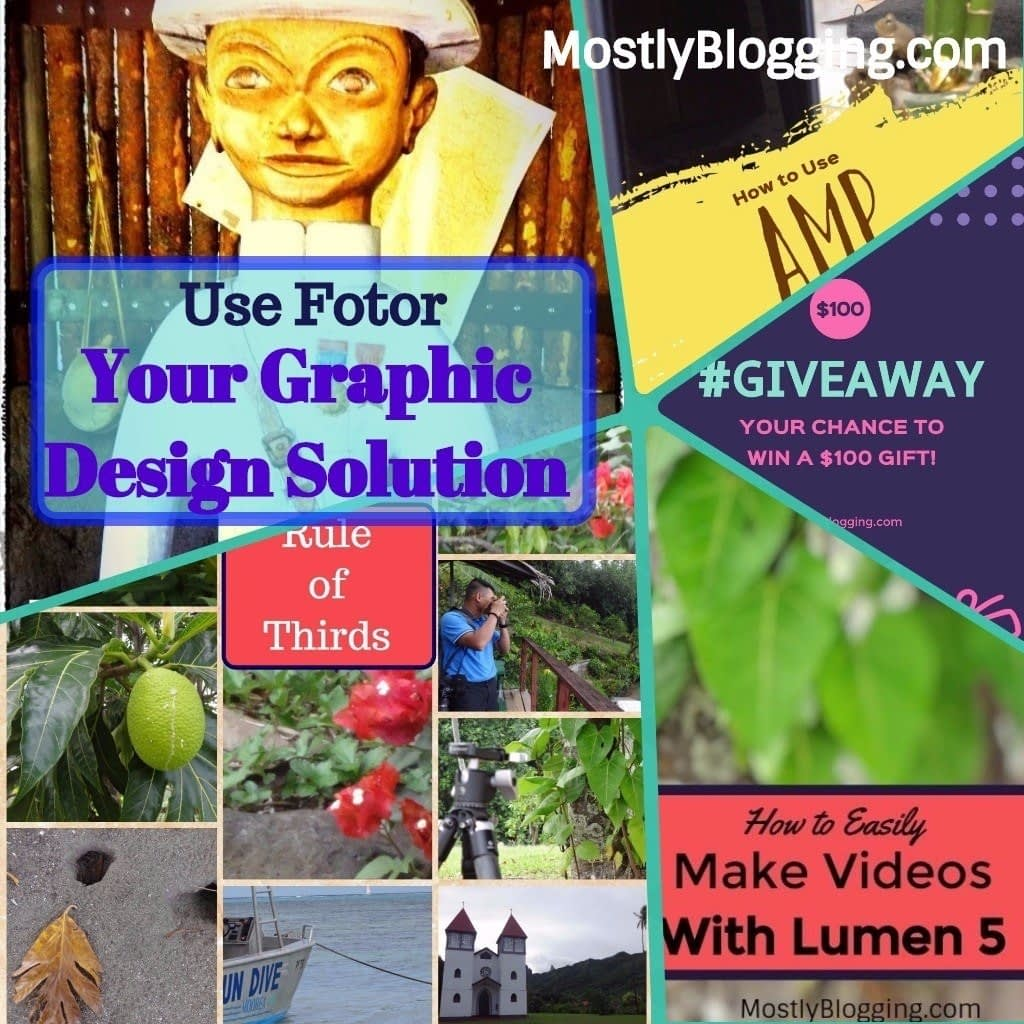 Fotor Photo Editor is your graphic design solution
