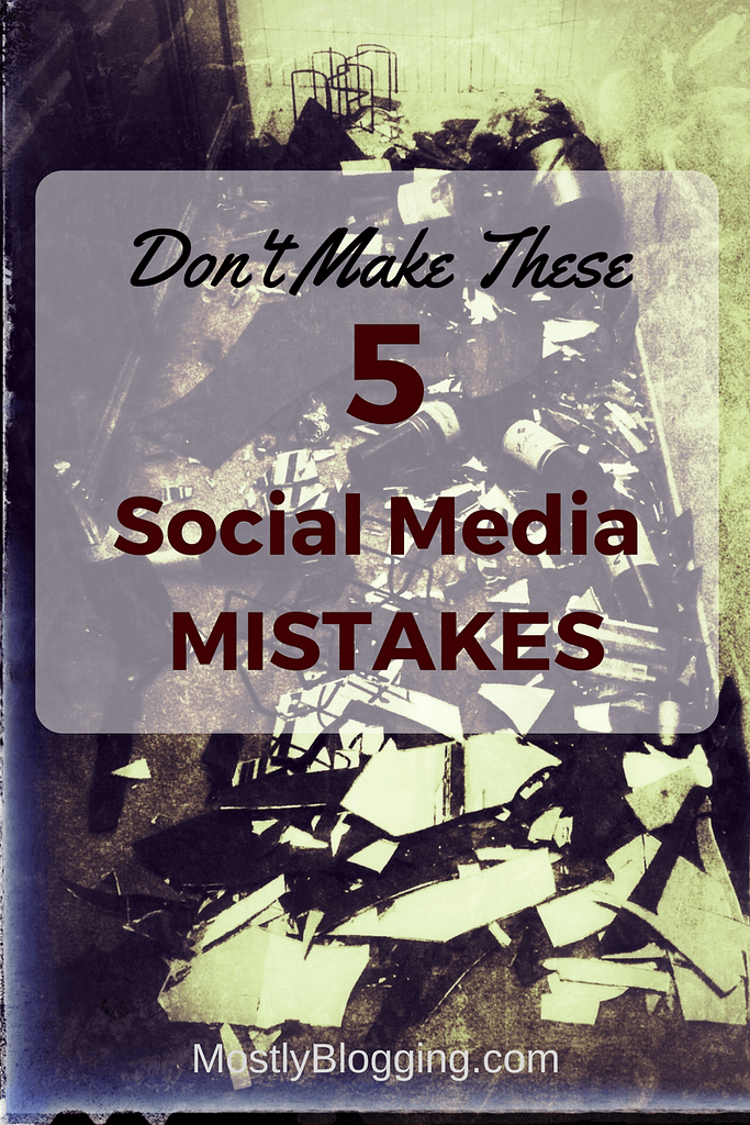 How to avoid these 5 embarrassing social media mistakes