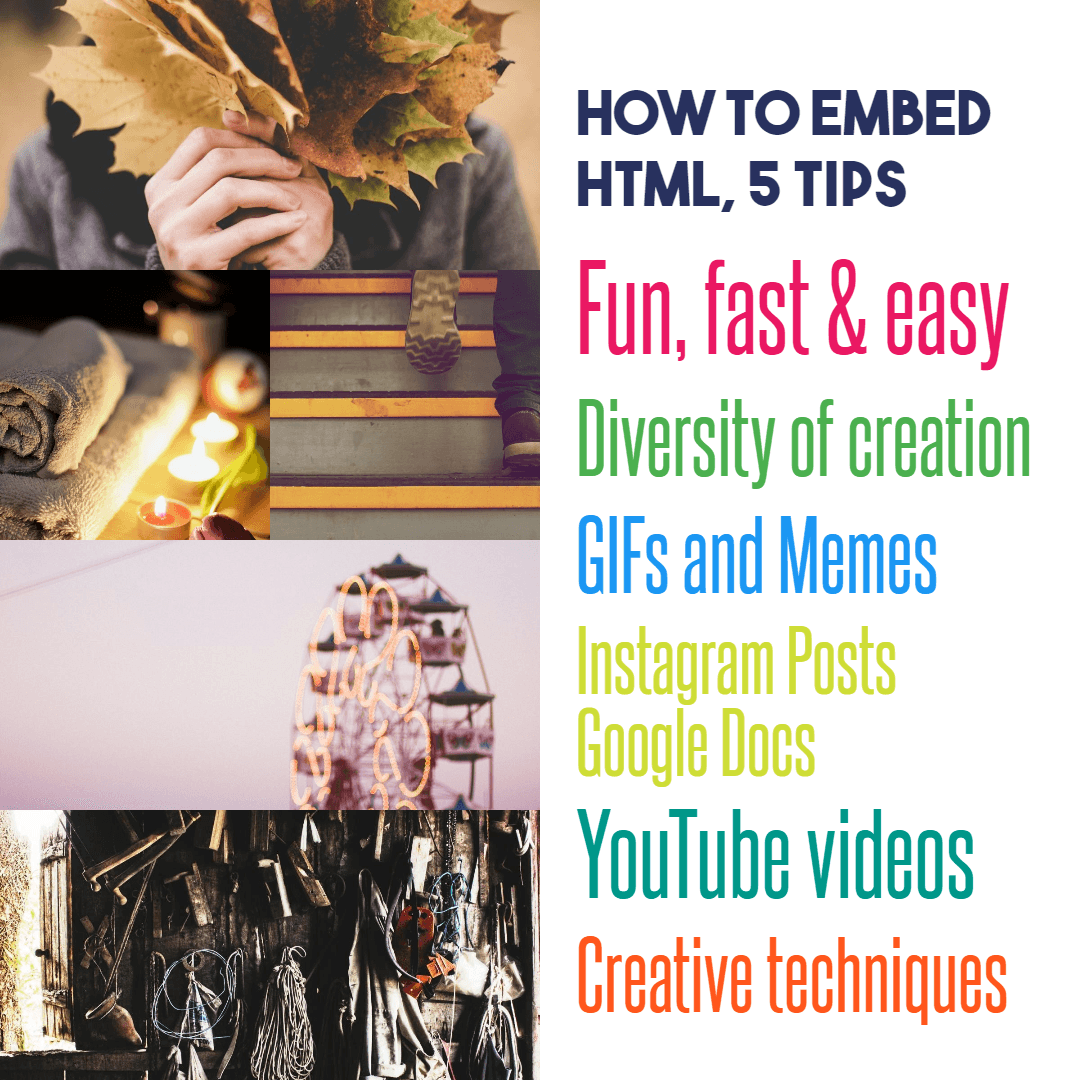 How to Embed HTML code