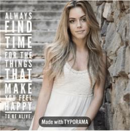Instagram quote maker
