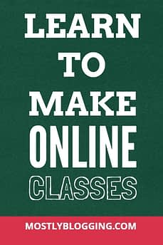 Mostly Blogging Academy