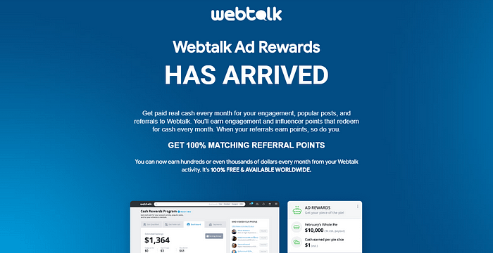 WebTalk review pay per lead