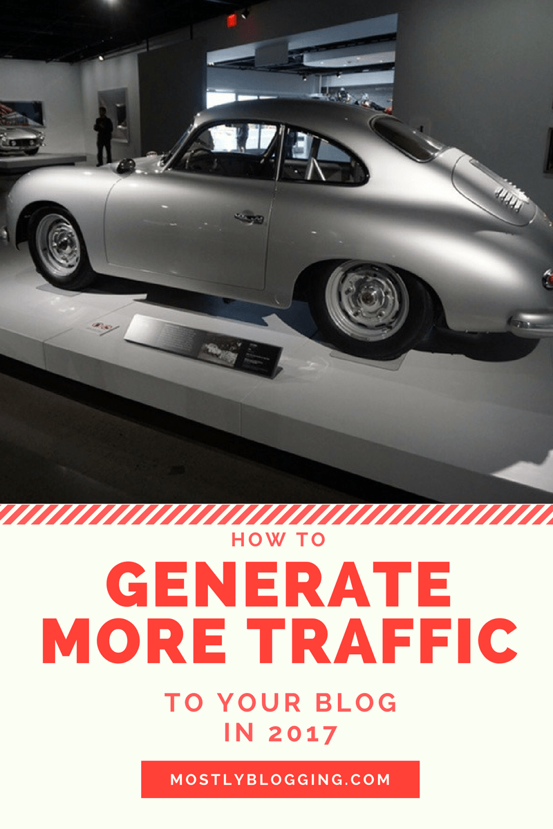 How to Generate Better Blog Traffic in 2017