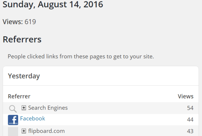 #Bloggers can get 619 page views to their blog in 1 day #blogging #bloggingtips