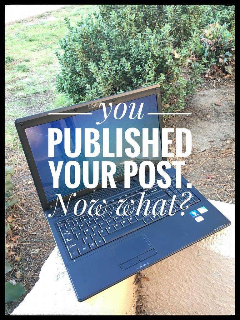 Blog Post Publication Checklist helps #Bloggers