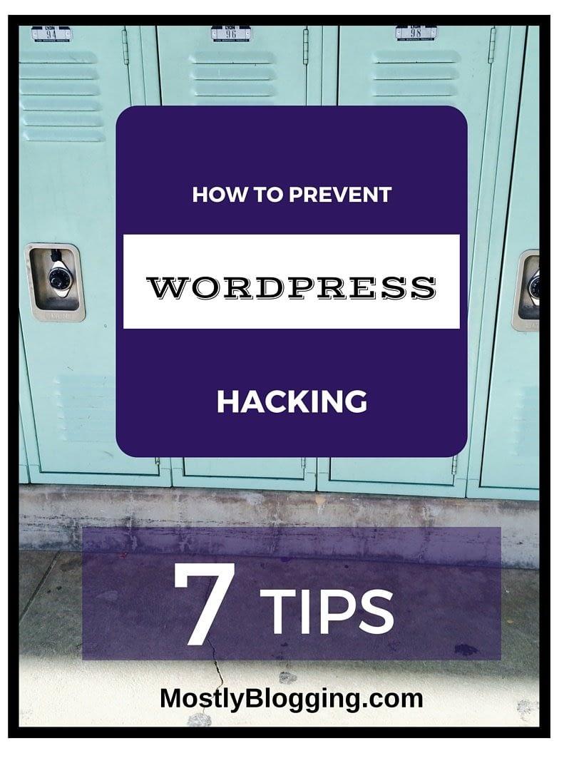 Avoid WordPress Hacking of your blog