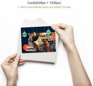 Fotor Christmas Card Making