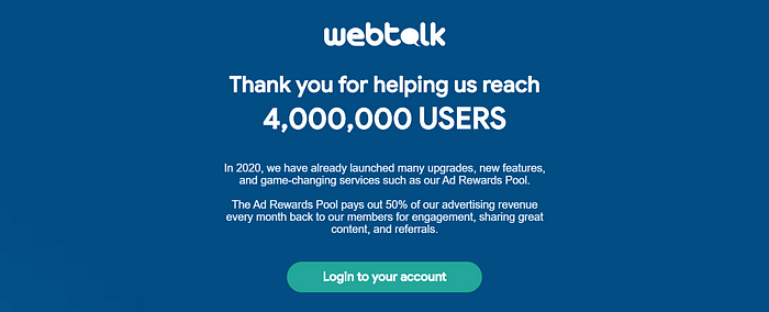 WebTalk referral WebTalk pay per lead