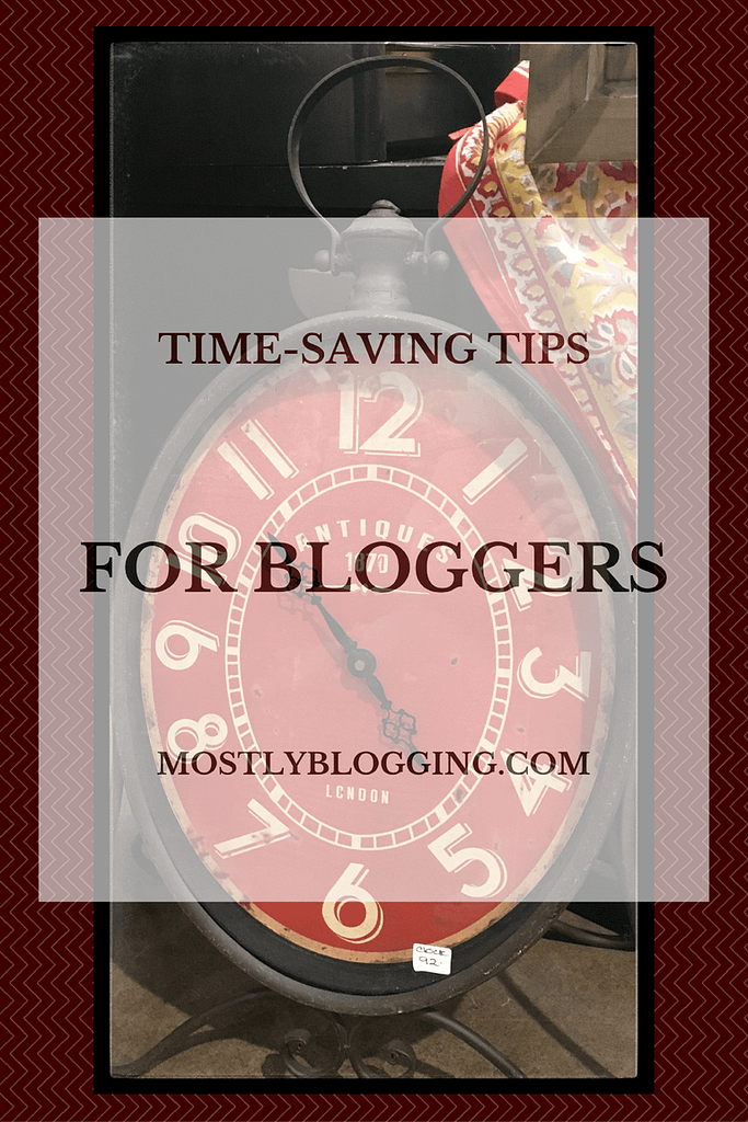 Time-Management Tips for Bloggers