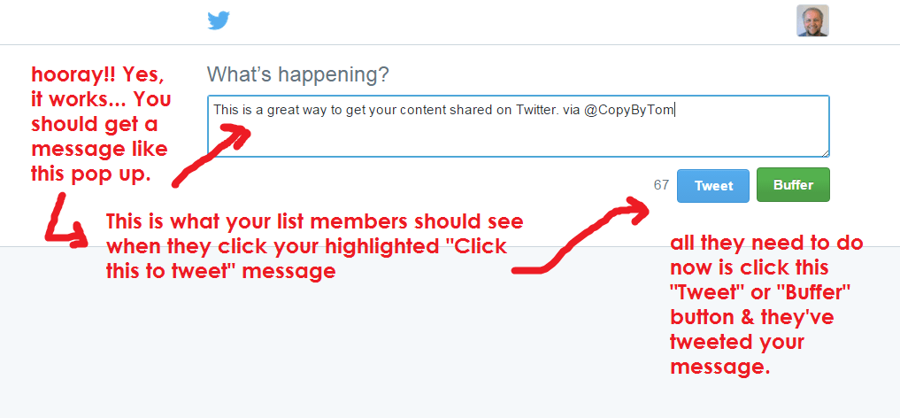 Click to Tweet helps with #blog promotion.