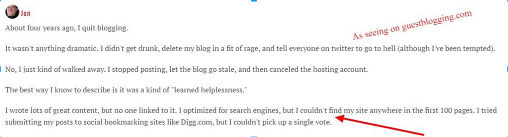 Every blogger has doubts about #blogging