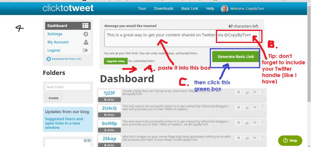 Click to Tweet helps #bloggers.