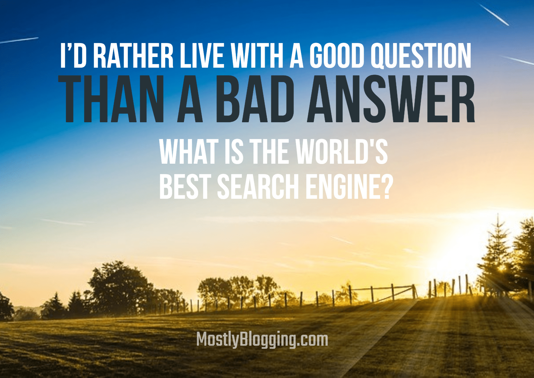 Google Search Alternatives: What Is the Best Search Engine?