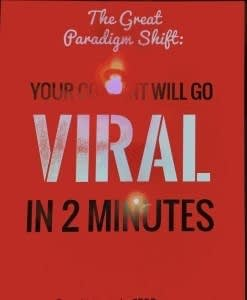 This article explains how to get a blog post to go viral.