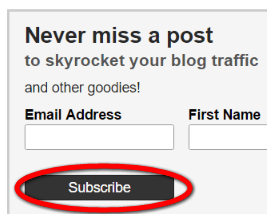 #Blogging stas can be increased with a Call to Action