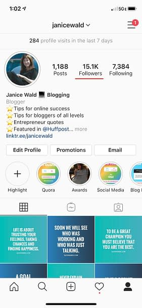 How to get more Instagram Followers Cheat Sheet