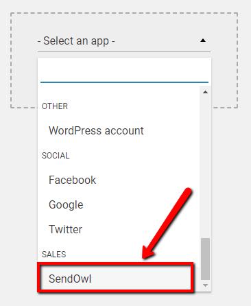 add API sendowl