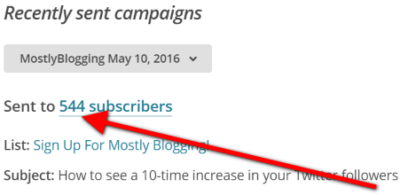 How to quickly get 2,000 blog subscribers