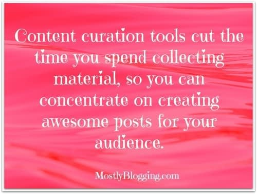 Content Curation Tools help #bloggers collect data and increase traffic. #blogging