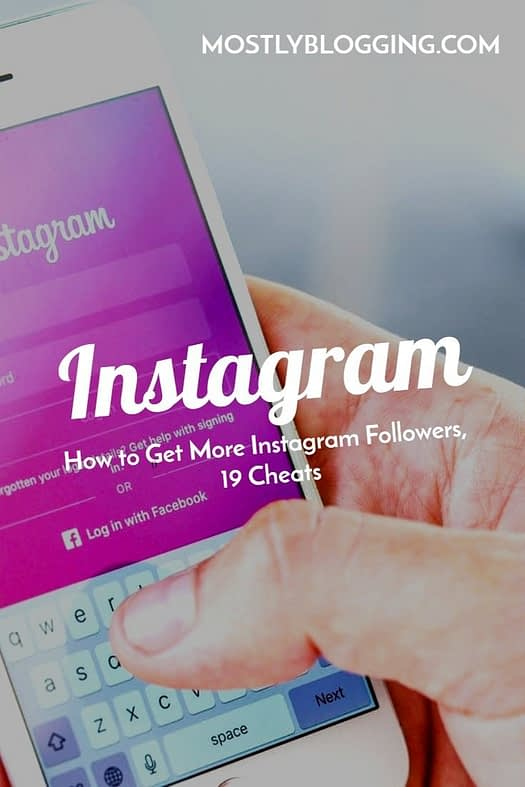 How to get more Instagram followers cheat sheet, 19 hacks