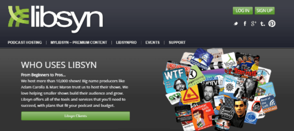 Libsyn helps #bloggers with podcasts