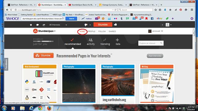 #StumbleUpon can lead to increased #blog traffic.