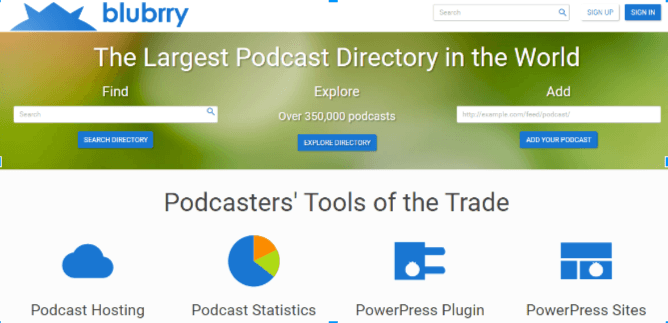 Blubrry helps #bloggers with podcasts