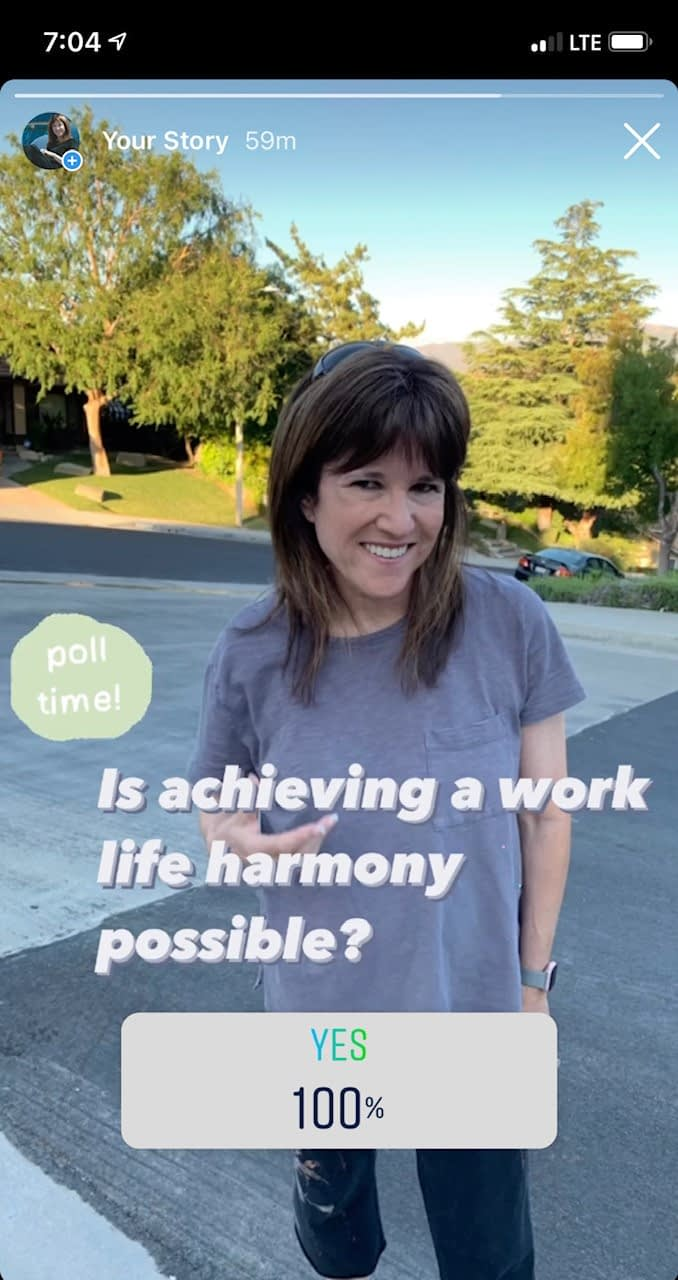 work-life harmony