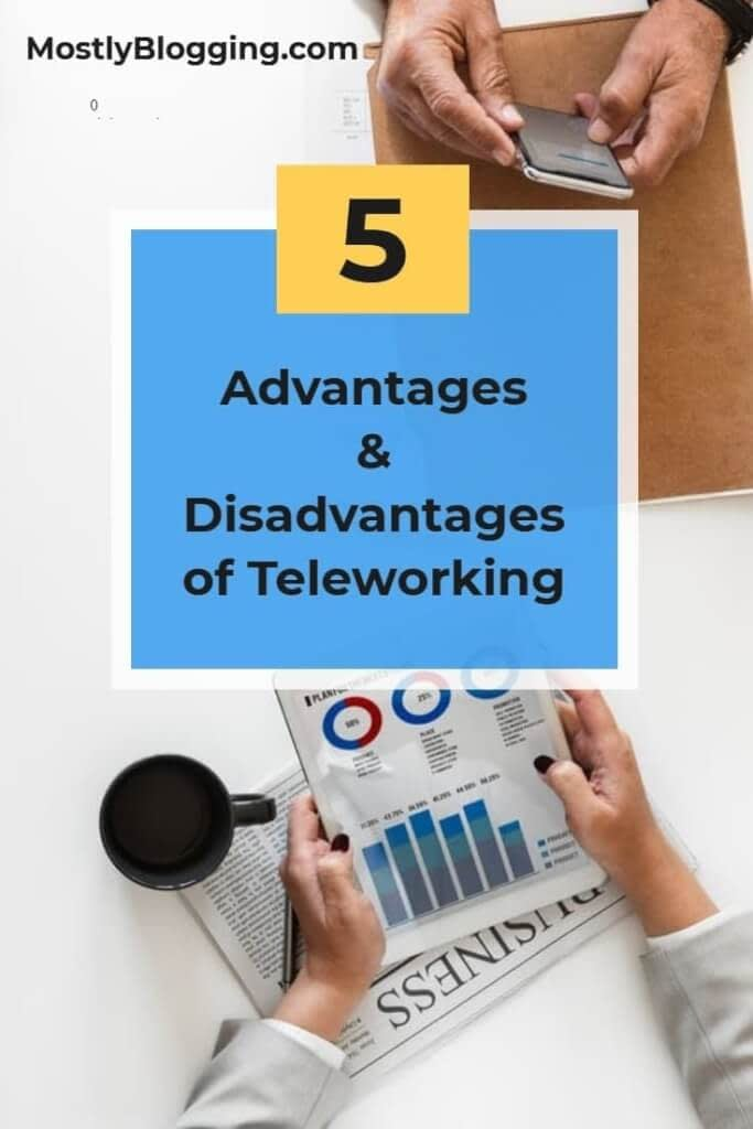 Disadvantages of Teleworking