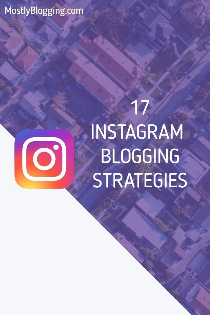 advantages of Instagram blogging