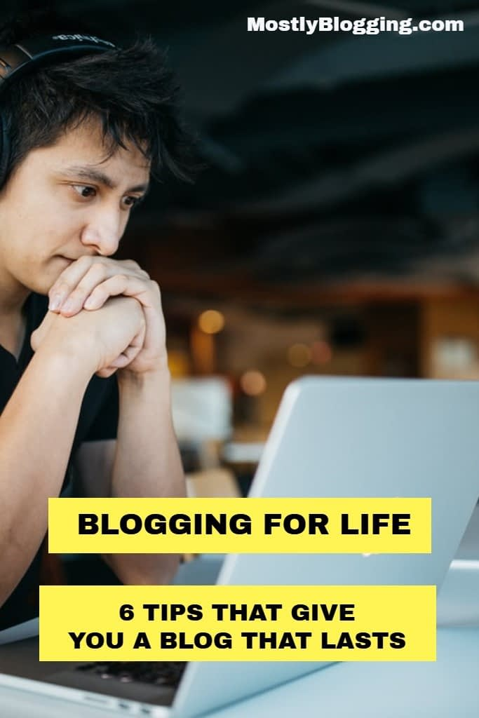 blogging for life