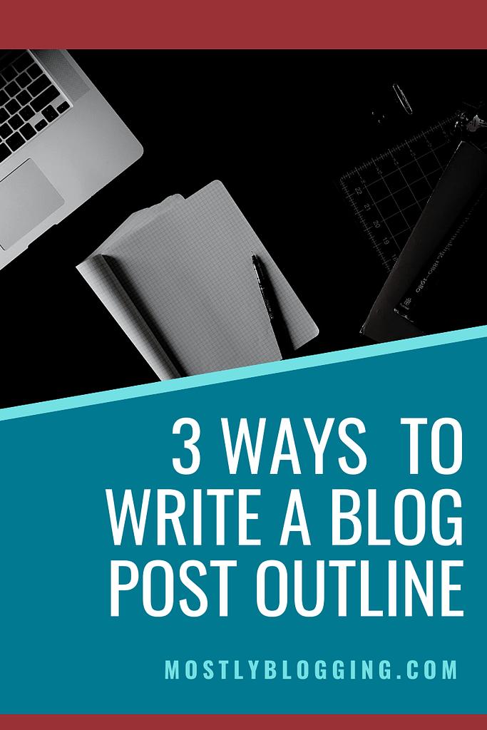 how to write a blog post hedline
