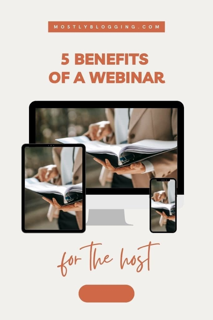 benefits of a webinar